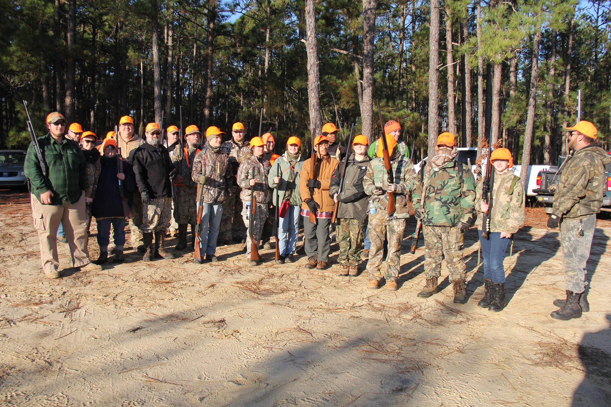 Crew 32 Deer Hunt, November 2014, Bladen Game Lands, NC